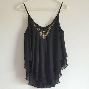 Express Hi-Lo Sequin Camisole